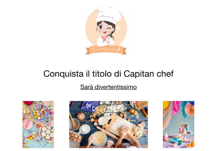 Conquista il titolo di Capitan chef